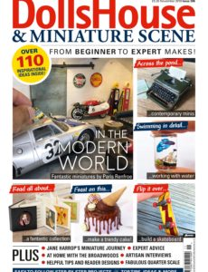 Dolls House & Miniature Scene – Issue 306 – November 2019