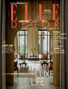 Elle Decor India – October-November 2019