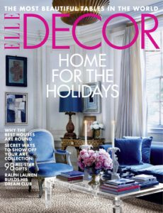 Elle Decor USA – December 2019