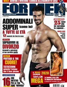 For Men Magazine – N 201 Novembre 2019