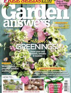 Garden Answers – December 2019