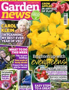 Garden News – 12 November 2019