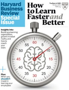 Harvard Business Review OnPoint – Winter 2019