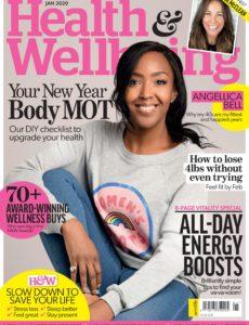 Health & Wellbeing – January 2020