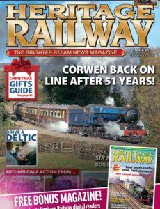 Heritage Railway – November 22, 2019