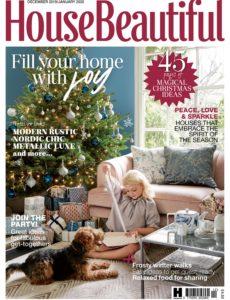 House Beautiful UK – December-January 2019