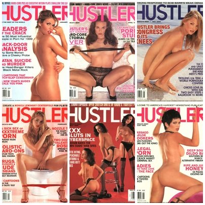 Hustler Usa Magazine – Full Year 1999 Collection Issue