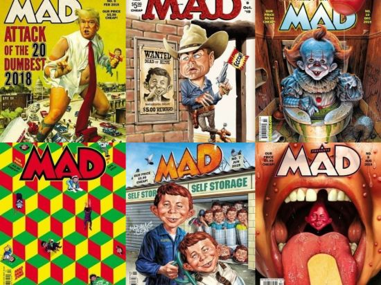 MAD Magazine – Full Year 2019 Collection Issues