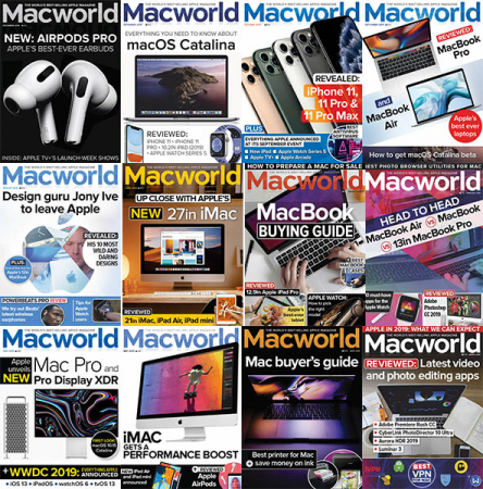 Macworld UK – 2019 Full Year Collection Issues