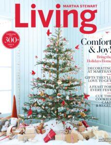 Martha Stewart Living – December 2019