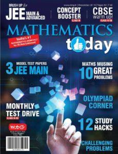 Mathematics Today – December 2019