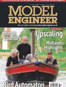 Model Engineer – 22 November 2019