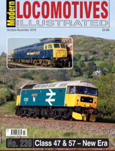 Modern Locomotives Illustrated – Issue 239 – October-November 2019