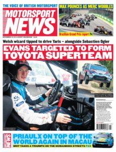 Motorsport News – November 20, 2019