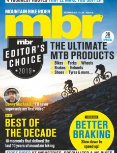 Mountain Bike Rider – December 2019