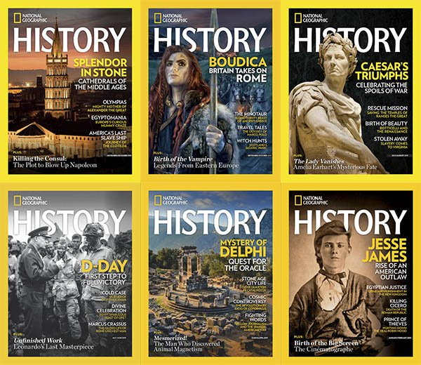 National Geographic History – Full Year 2019 Collection