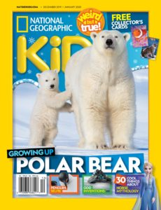National Geographic Kids USA – December 2019 – January 2020
