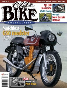 Old Bike Australasia – November 03, 2019