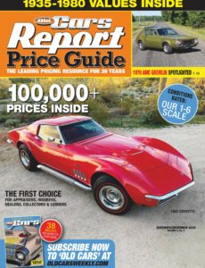 Old Cars Report Price Guide – November-December 2019