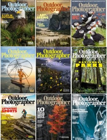 Outdoor Photographer – 2019 Full Year Issues Collection