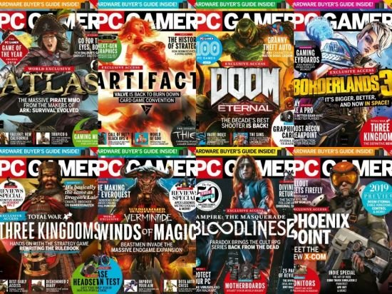 PC Gamer USA – Full Year 2019 Collection Issue