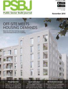 PSBJ Public Sector Building Journal – November 2019