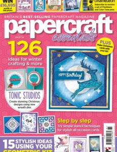 Papercraft Essentials – December 2019