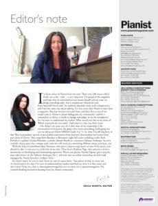 Pianist Specials – November 2019