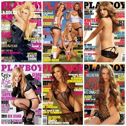 Playboy USA – Full Year 2011 Issues Collection
