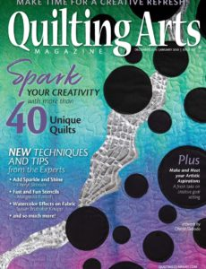 Quilting Arts – December-January 2019