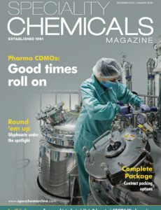 Speciality Chemicals Magazine – December 2019-January 2020