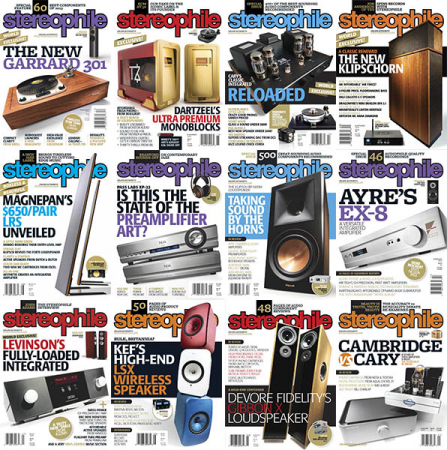 Stereophile – 2019 Full Year Collection Issues