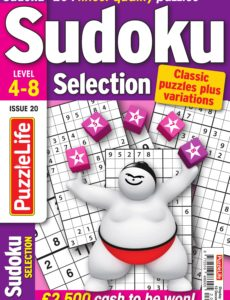Sudoku Selection – November 2019