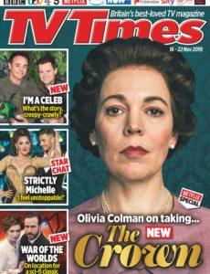 TV Times – 16 November 2019