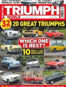 Triumph World – Autumn 2019