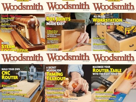 Woodsmith Magazine – Full Year 2019 Collection Issues
