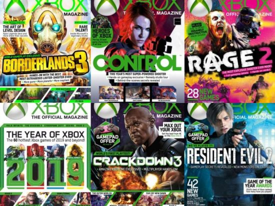 Xbox: The Official Magazine UK – Full Year 2019 Collection