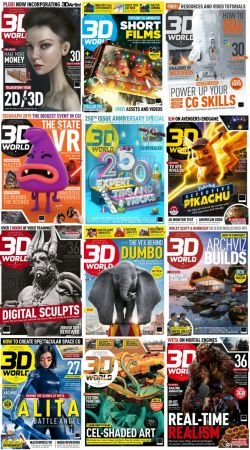 3D World UK – 2019 Full Year Issues Collection