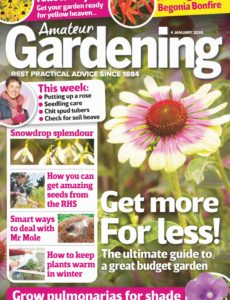 Amateur Gardening – 04 January 2020
