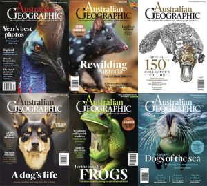 Australian Geographic – 2019 Full Year Issues Collection