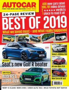 Autocar UK – 24 December 2019