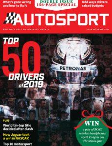 Autosport – 19 December 2019