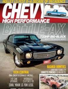 Chevy High Performance – March 2020