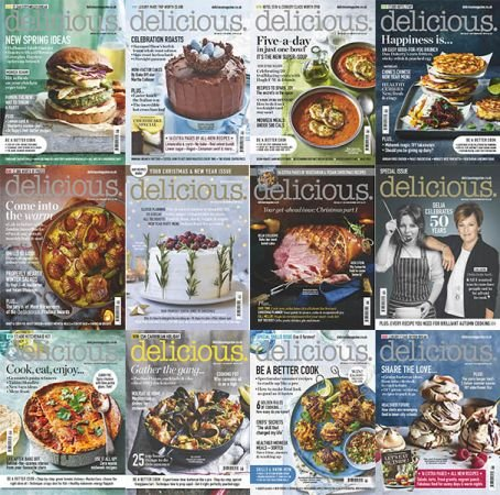 Delicious UK – 2019 Full Year Issues Collection