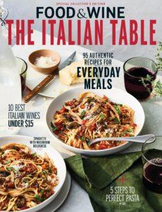 Food & Wine USA The Italian Table (2019)