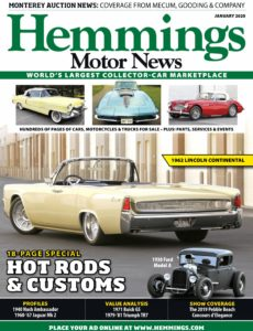 Hemmings Motor News – January 2020
