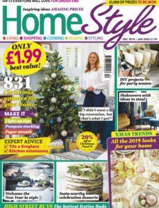 HomeStyle UK – December 2019 – January 2020
