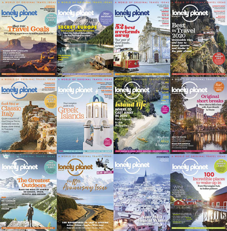 Lonely Planet Traveller UK – 2019 Full Year Collection