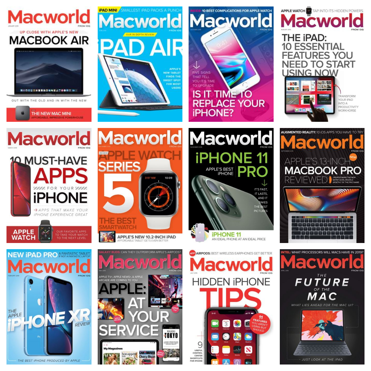 Macworld USA – 2019 Full Year Issues Collection