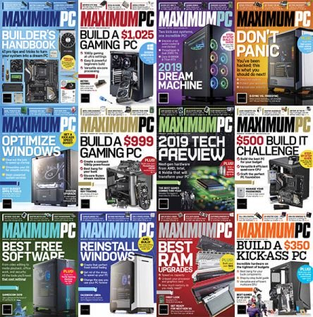 Maximum PC – 2019 Full Year Issues Collection